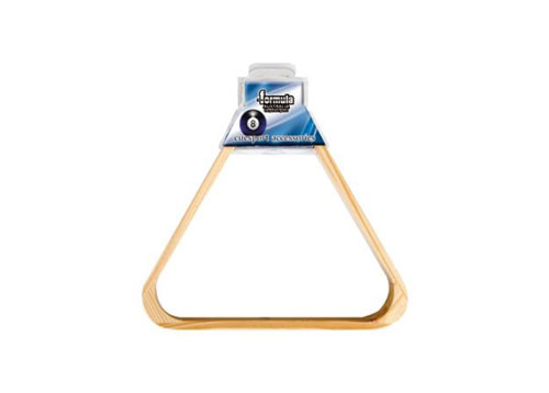 2″ Wood Triangle 10 Ball