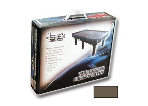 8′ Table Cover Heavy Duty Vinyl Brown