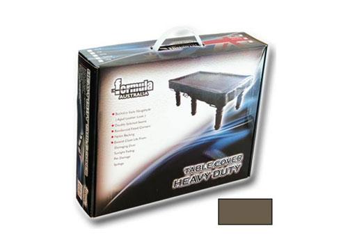9′ Table Cover Heavy Duty Vinyl Brown