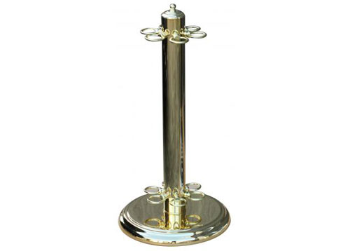Brass Cue Stand