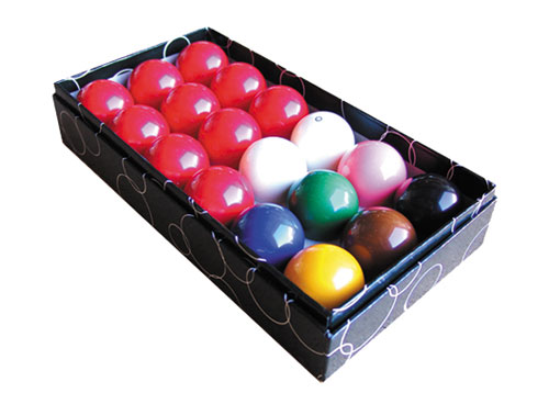 Standard Snooker Balls 1-7/8′ Boxed