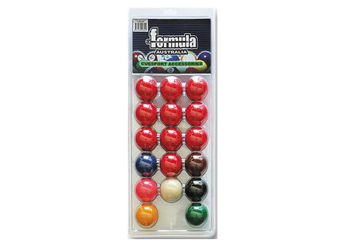 Standard Snooker Balls 2′ Blister Pack